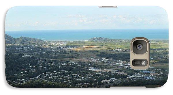 Galaxy Case featuring the photograph Skyline Drive Overlook by John Mathews