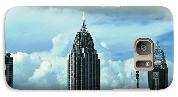 Galaxy Case featuring the photograph Skyline Over  Mobile by Ecinja Art Works