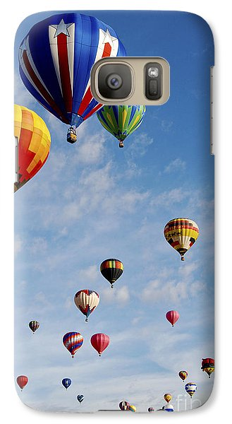 Galaxy Case featuring the photograph Skyward Bound by Gina Savage
