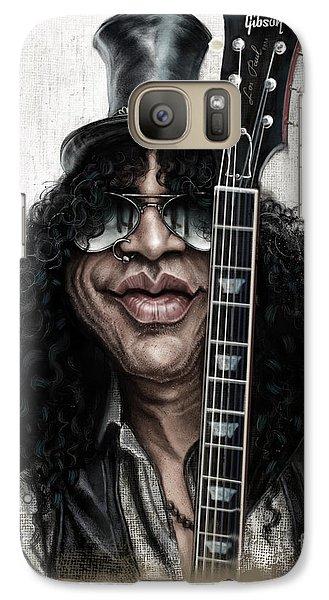 Musicians Galaxy S7 Case - Slash by Andre Koekemoer