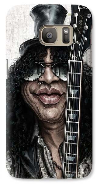 Musicians Galaxy S7 Case - Slash by Andre Koekemoer