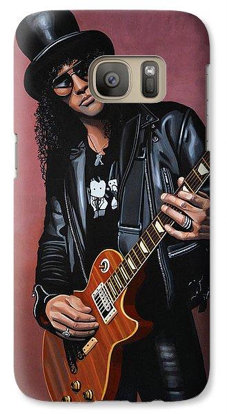 Musicians Galaxy S7 Case - Slash by Paul Meijering