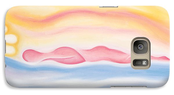 Galaxy Case featuring the painting Sleep All Day by Tiffany Davis-Rustam