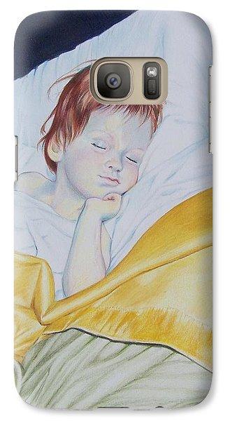 Galaxy Case featuring the mixed media Sleeping Beauty by Constance Drescher