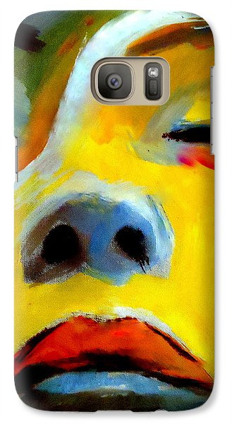 Galaxy Case featuring the painting Sleeping Beauty by Helena Wierzbicki