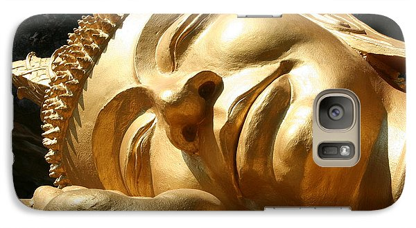 Galaxy Case featuring the photograph Sleeping Buddha by Nola Lee Kelsey