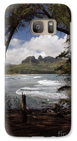 Galaxy Case featuring the photograph Sleeping Giant by Suzanne Luft