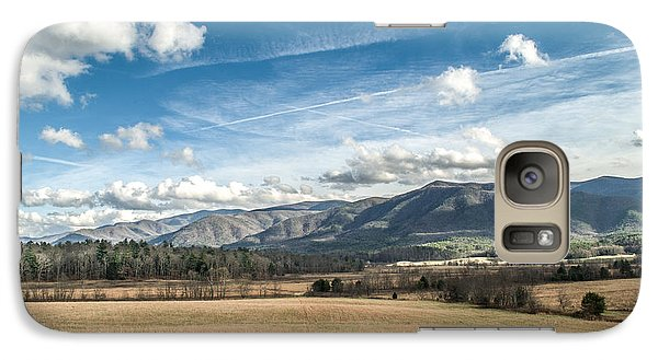 Galaxy Case featuring the photograph Sleeping Giants In Cades Cove by Debbie Green