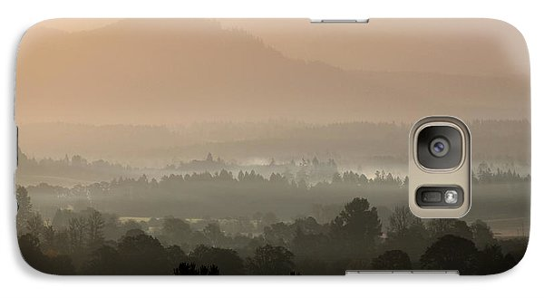 Galaxy Case featuring the photograph Sleepy Morning by Erica Hanel