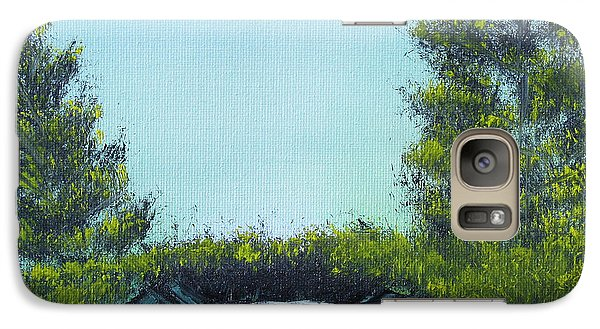 Galaxy Case featuring the painting Slickrock Pond by Jennifer Muller