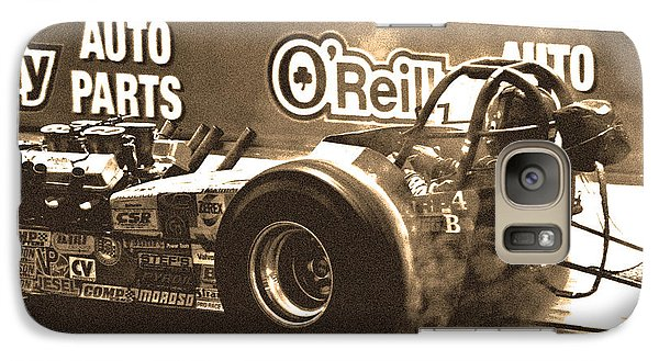 Galaxy Case featuring the photograph Slingshot Dragster by Christopher McKenzie