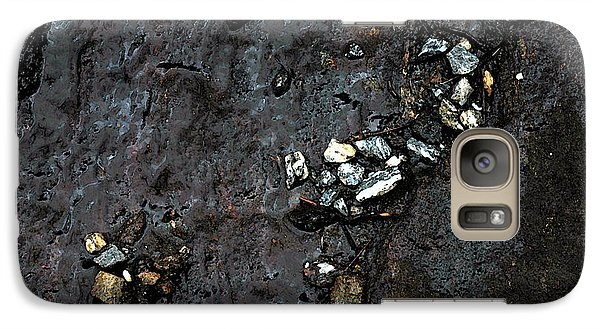Galaxy Case featuring the photograph Slippery Rock  by Allen Carroll