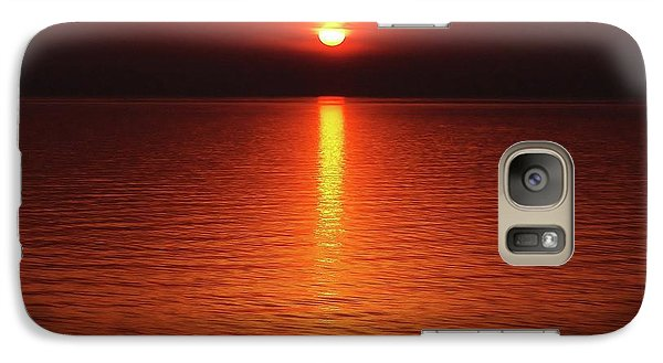 Galaxy Case featuring the photograph Slipp'n Into Darkness by Kathi Mirto
