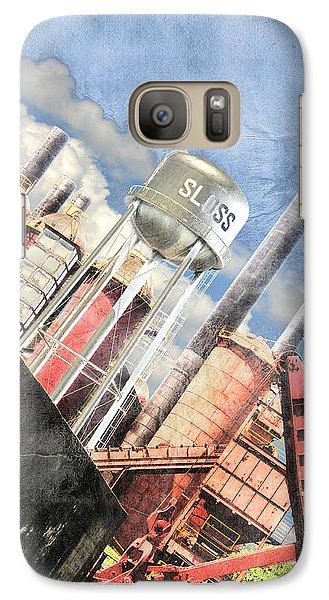 Galaxy Case featuring the digital art Sloss Furnace by Davina Washington