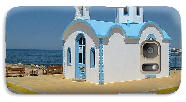 Galaxy Case featuring the photograph Small Crete Church by David Grant