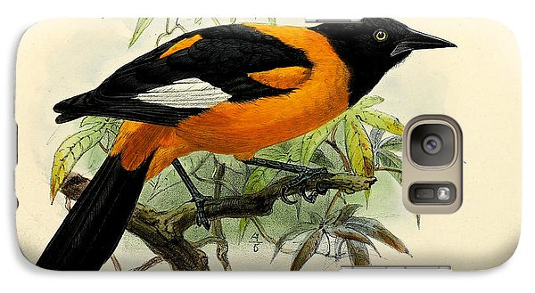 Small Oriole Galaxy S7 Case