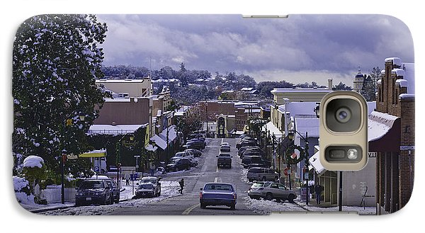 Galaxy Case featuring the photograph Small Town America by Sherri Meyer