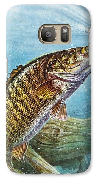 Smallmouth Bass Galaxy S7 Case - Smallmouth Bass by JQ Licensing