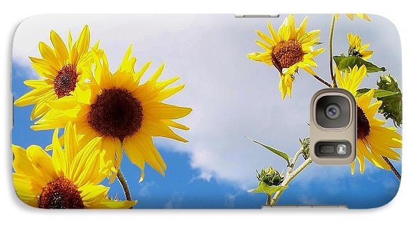 Galaxy Case featuring the photograph Smile Down On Me by Mary Wolf