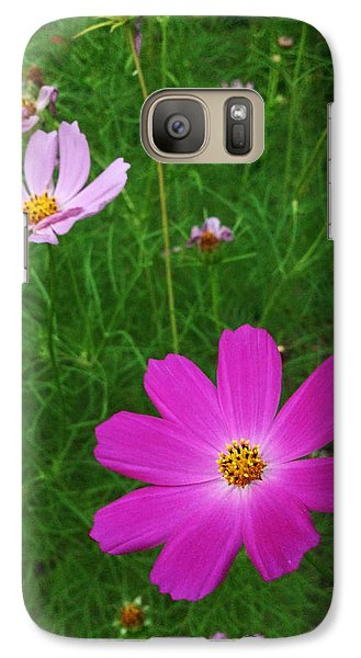 Galaxy Case featuring the photograph Smiles by Lucy D