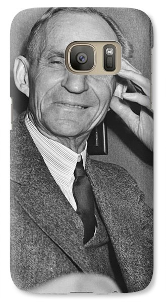 Smiling Henry Ford Galaxy S7 Case by Underwood Archives