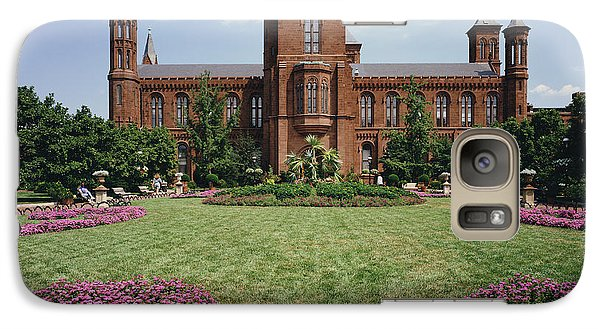 Smithsonian Institution Building Galaxy S7 Case by Rafael Macia