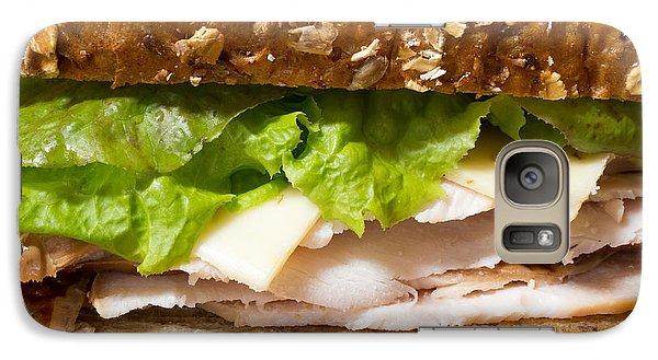 Smoked Turkey Sandwich Galaxy S7 Case by Edward Fielding