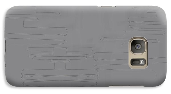Galaxy Case featuring the digital art Smoky Cliff by Kevin McLaughlin