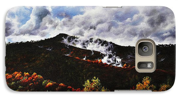 Galaxy Case featuring the painting Smoky Mountain Angel Hair by Craig T Burgwardt