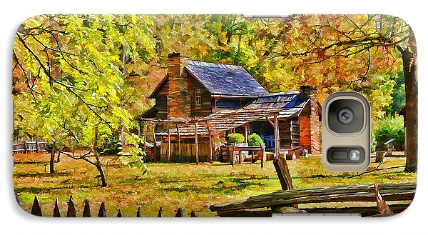 Galaxy Case featuring the photograph Smoky Mountain Homestead by Kenny Francis