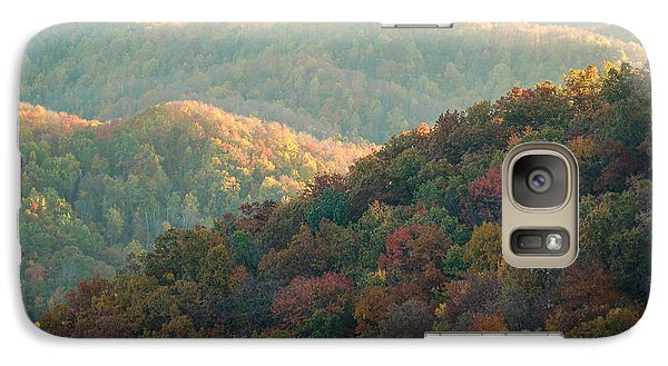 Galaxy Case featuring the photograph Smoky Mountain View by Patrick Shupert