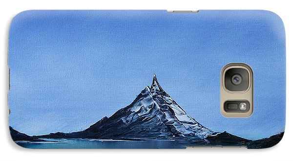 Galaxy Case featuring the painting Smooth As Glass by Jennifer Muller