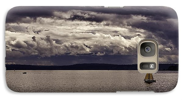 Galaxy Case featuring the photograph Smooth Sailing by Wayne Meyer