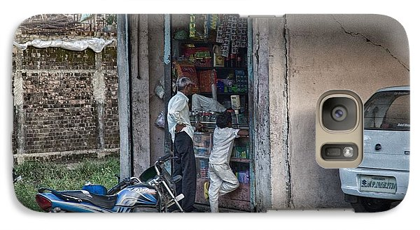 Galaxy Case featuring the photograph Snack Stop by John Hoey