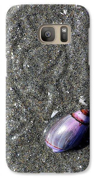 Galaxy Case featuring the photograph Snail's Pace by Lisa Phillips