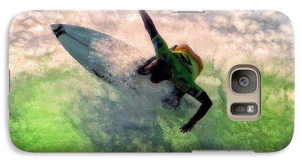 Galaxy Case featuring the painting Snap Turn by Michael Pickett