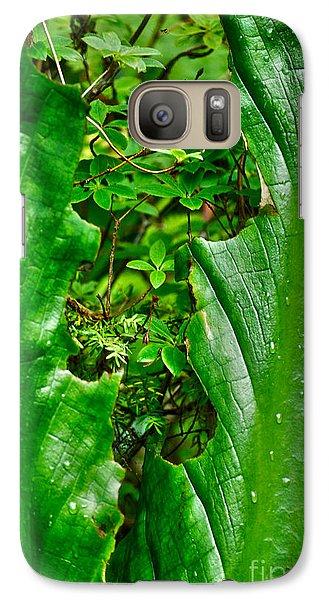 Galaxy Case featuring the photograph Sneak Peek by Cynthia Lagoudakis