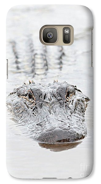 Sneaky Swamp Gator Galaxy S7 Case
