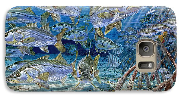 Catfish Galaxy S7 Case - Snook Cruise In006 by Carey Chen
