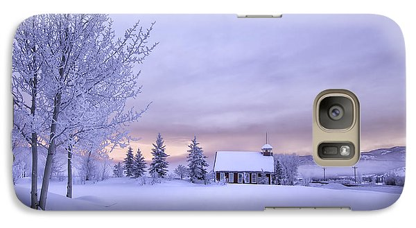 Galaxy Case featuring the photograph Snow Day by Kristal Kraft