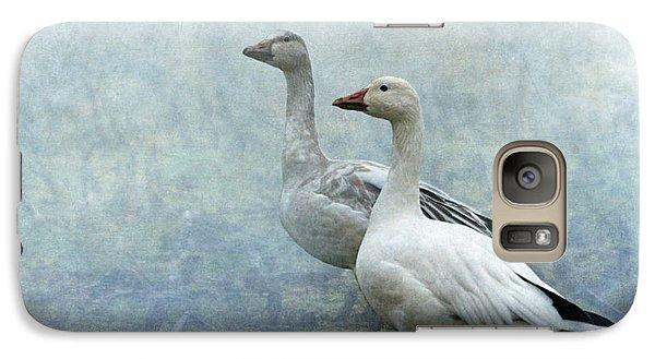 Snow Geese Galaxy S7 Case