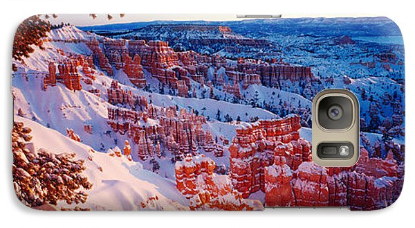 Snow In Bryce Canyon National Park Galaxy Case by Panoramic Images