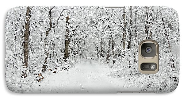 Snow In The Park Galaxy S7 Case