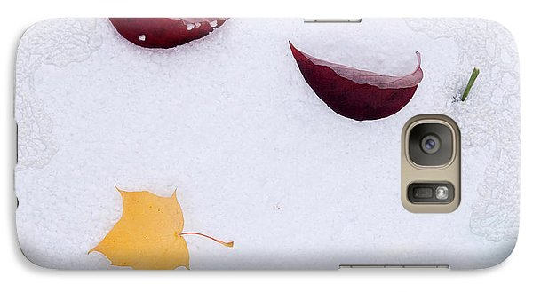 Galaxy Case featuring the photograph Snow Kissed by Terri Harper