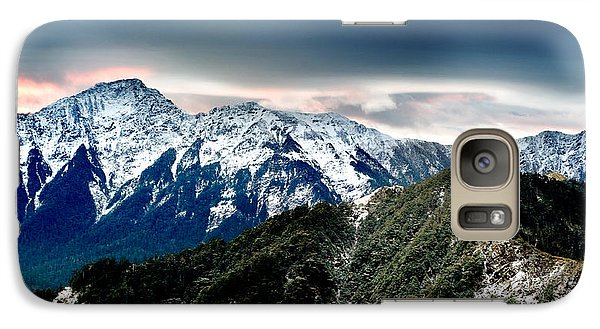 Galaxy Case featuring the photograph Snow Mountain by Yew Kwang