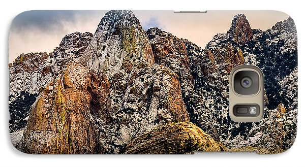 Galaxy S7 Case featuring the photograph Snow On Peaks 45 by Mark Myhaver