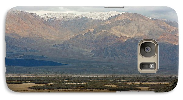 Galaxy Case featuring the photograph Snow Peaks by Stuart Litoff