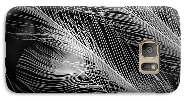 Galaxy Case featuring the photograph Snow Plumage by Lorenzo Cassina