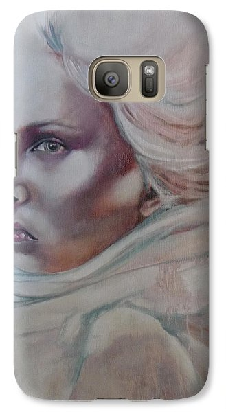 Galaxy Case featuring the painting Snow Queen by Irena Mohr