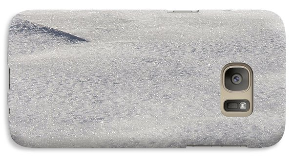 Galaxy Case featuring the photograph Snow Shadows 2 by Rachel Lowry